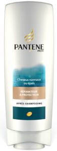 après shampoing panthene réparateur et protecteur