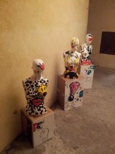 pop art aso p bustes