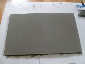 planche peinte seconde couche
