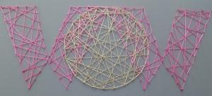 planche à clou fil tendu décoration