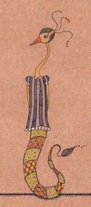 illustration chimère melle cancan