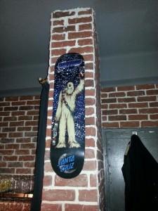 décoration skate coffee shop toulon