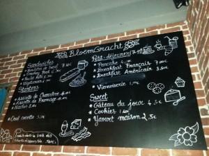 menu bloemgracht coffee shop toulon