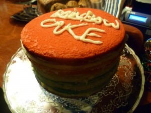 rainbow cake bloem gracht toulon