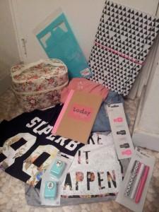achats shopping primark hema