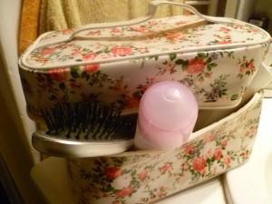 trousse de toilette vanity fleurs primark