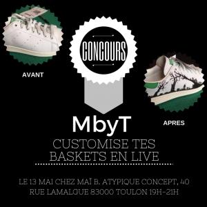 concours custom baskets MbyT