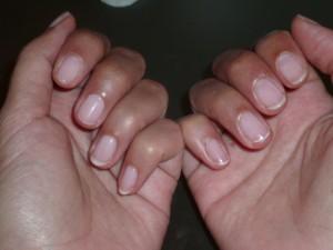 résultat manucure vernis semi permanent striplac
