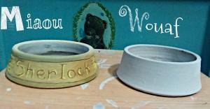 gamelle pour animaux céramique les pots de vanille