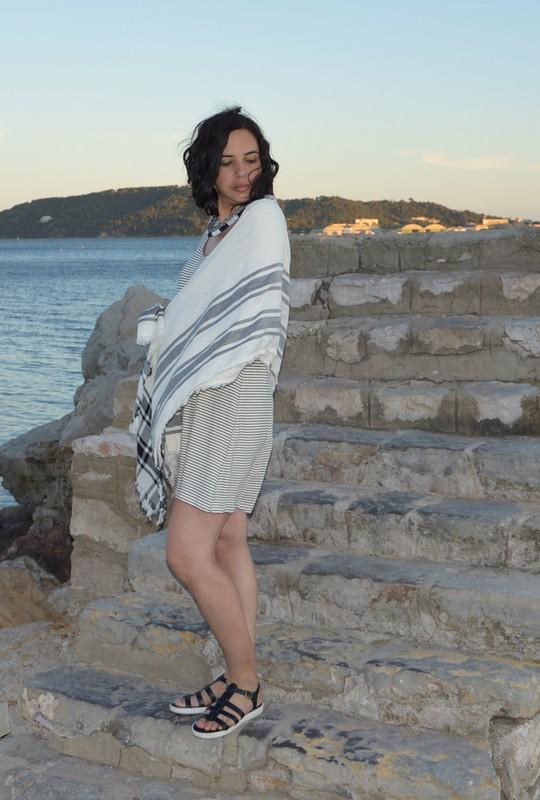 look marin noir et blanc original ootd blog mode