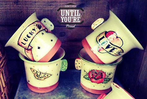 mugs tattoo les pots de vanille céramique