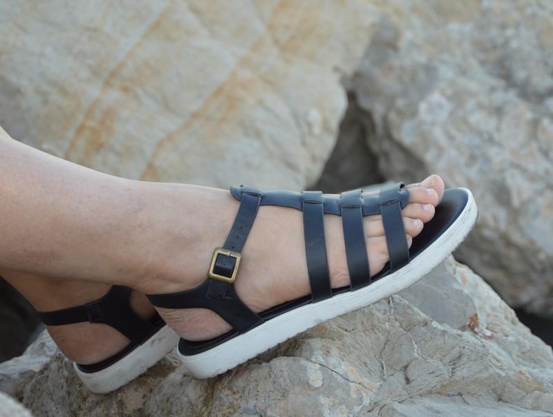 sandales semelles blanches tropéziennes gémo