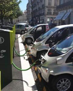 voitures électriques en libre service grenoble