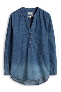 blouse-denim-pois-jean-esprit