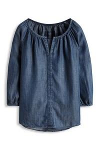 blouse-fluide-denim-jean-esprit