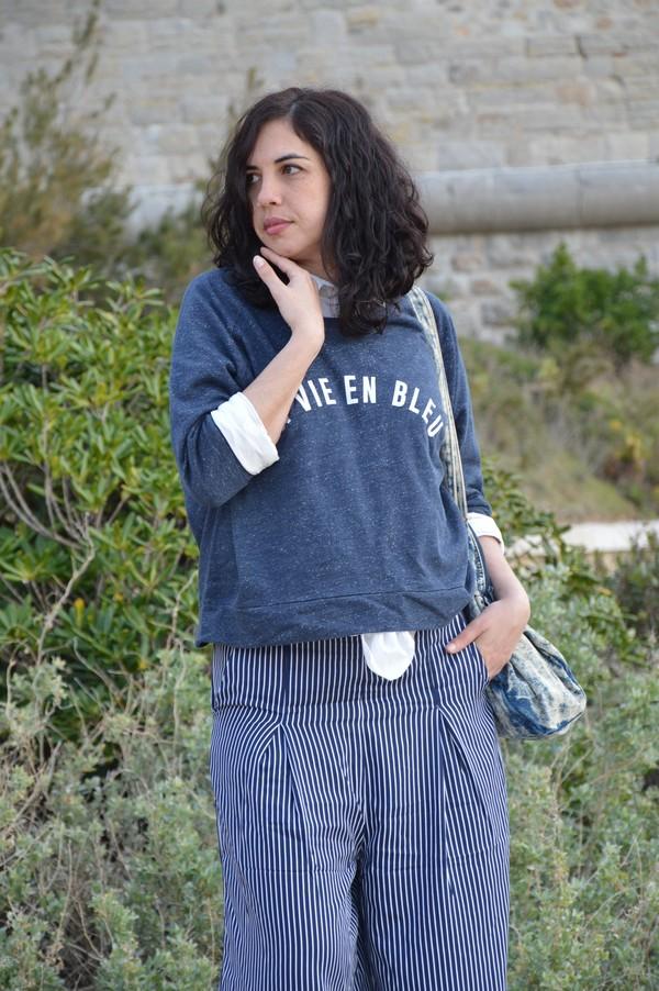 look-ootd-tenue-jennyfer-jupeculotte-bleu