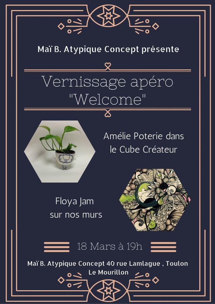 vernissage-apero-welcome-createur-artiste-conceptstore-floyajam-ameliepoterie