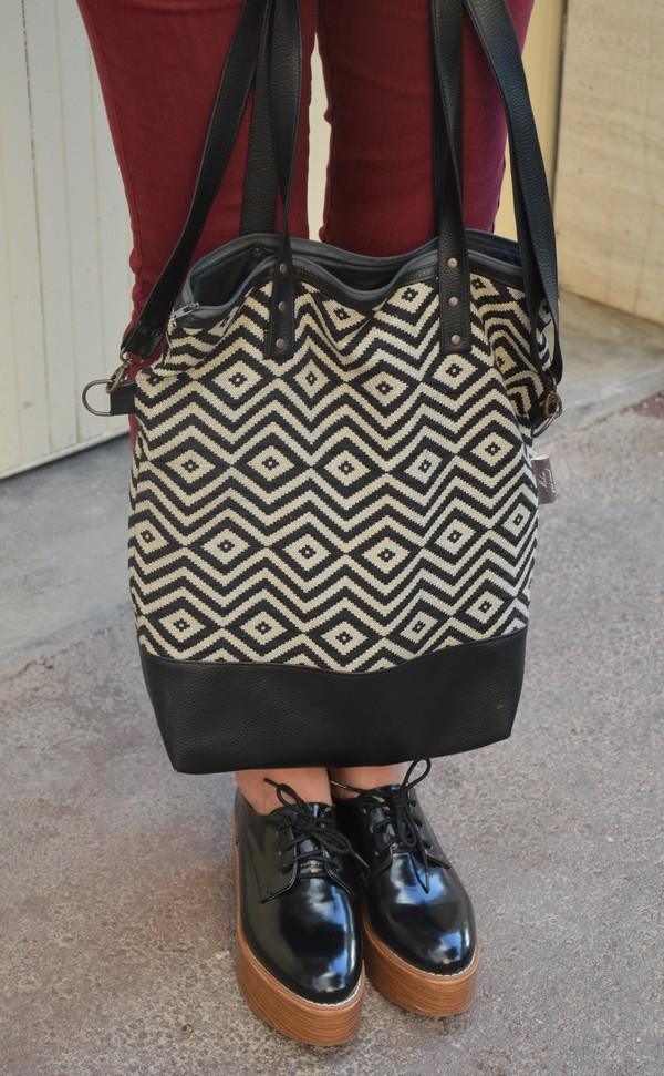 look-tenue-outfit-blogueuse-mode-derbies-compensees-sac-chevrons-geometrique-creation-milou-qui-coud